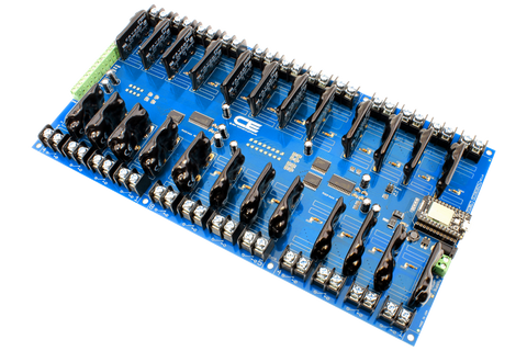 Relay Shield for Particle Photon I2C 24-Channel Solid-State Relay 8 Programmable Digital Input Output