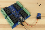 Photon Sensor Controlled 16 Channel Relay Controller