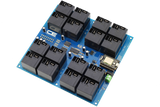 Relay Shield for Particle Photon I2C 16-Channel 30-Amp SPST