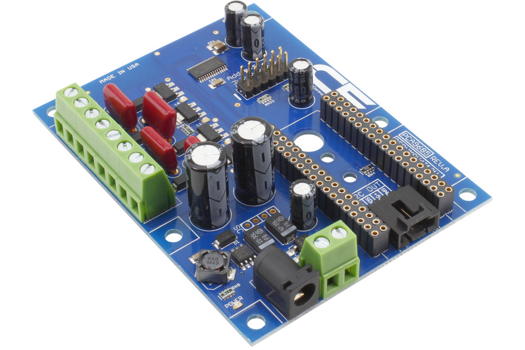 4-Channel 8W 12V FET Driver Proportional Valve Controller for IoT