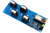 I2C AC Current Monitoring Controller 4-Channel 70-Amp