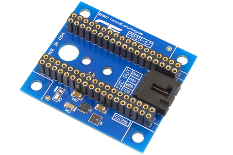 Particle Electron or Photon Compatible I2C Shield for Battery only Power
