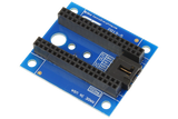 I2C Shield for Particle Electron with Outward Facing +5V I2C Port
