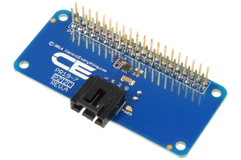 I2C Shield for Raspberry Pi Zero