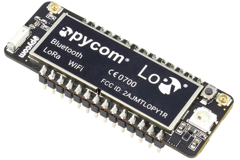 LoPy: LoRa, WiFi and Bluetooth