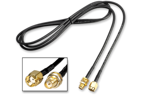 RP-SMA Male/Female Extension Cable 1M
