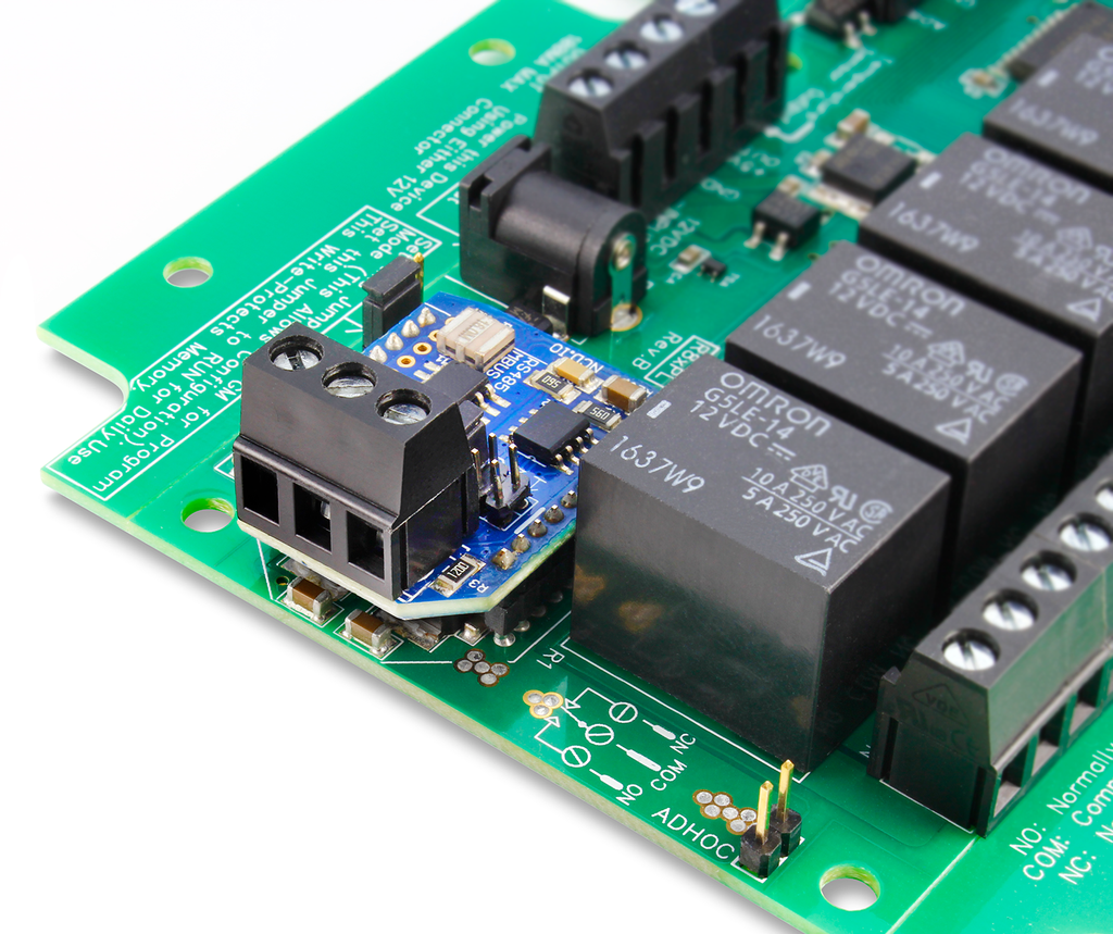 Rs 485 Relay Controllers By Ncd Electric Uses Board