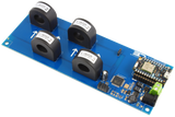 DLCT27C10 Current Monitoring Controller 4-Channel 20-Amp 97% Accuracy with WiFi Connectivity using Particle Photon