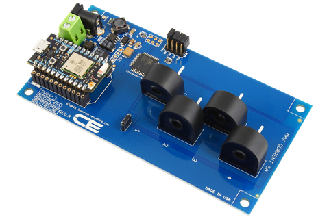 DLCT03C20 Current Monitoring Controller 4-Channel 5-Amp 95% Accuracy with WiFi Connectivity using Particle Photon