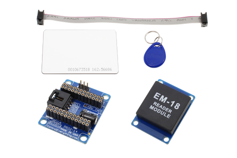 RFID Receiver and I2C Adapter with USB Interface for Particle Photon