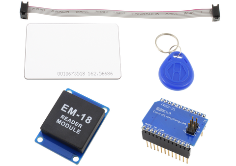 RFID Receiver Overlay Shield for Particle Photon and Electron