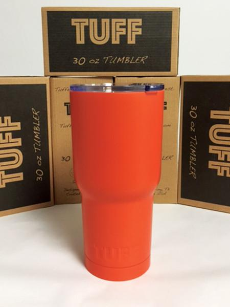 CUP Solidcolor - ORANGE (MATTE) - 30oz TUFF CUP