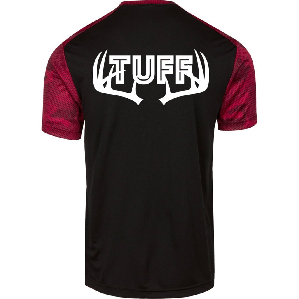 T-Shirts - TUFF Buck Men's CamoHex T-Shirt