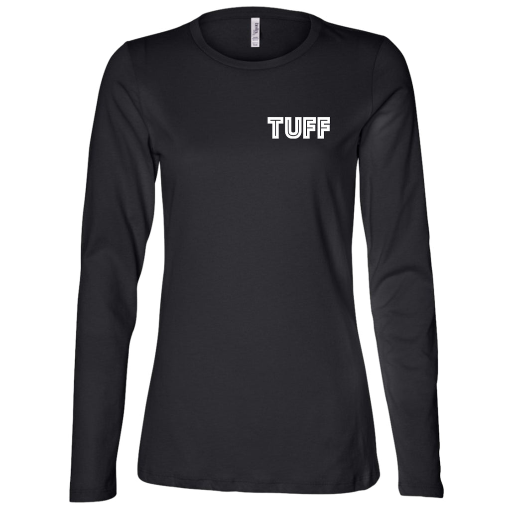 T-Shirts - TUFF Ladies' LS Missy Fit