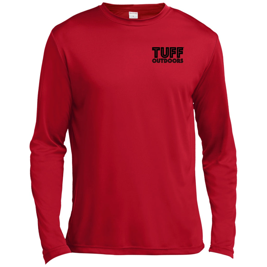 T-Shirts - TUFF OUT Get Hooked LS Moisture Absorbing Shirt