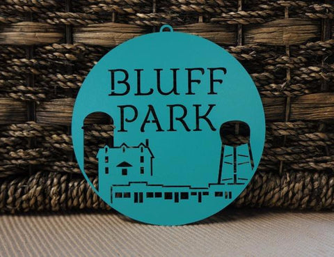 BLUFF PARK ORNAMENT