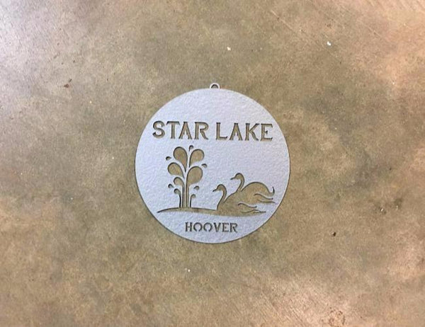 STAR LAKE ORNAMENT