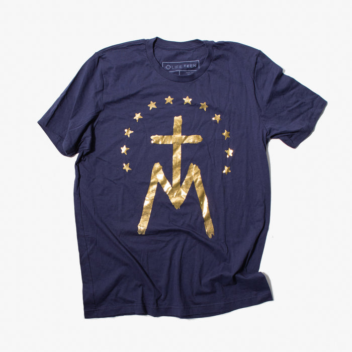 Gold Mary T-Shirt