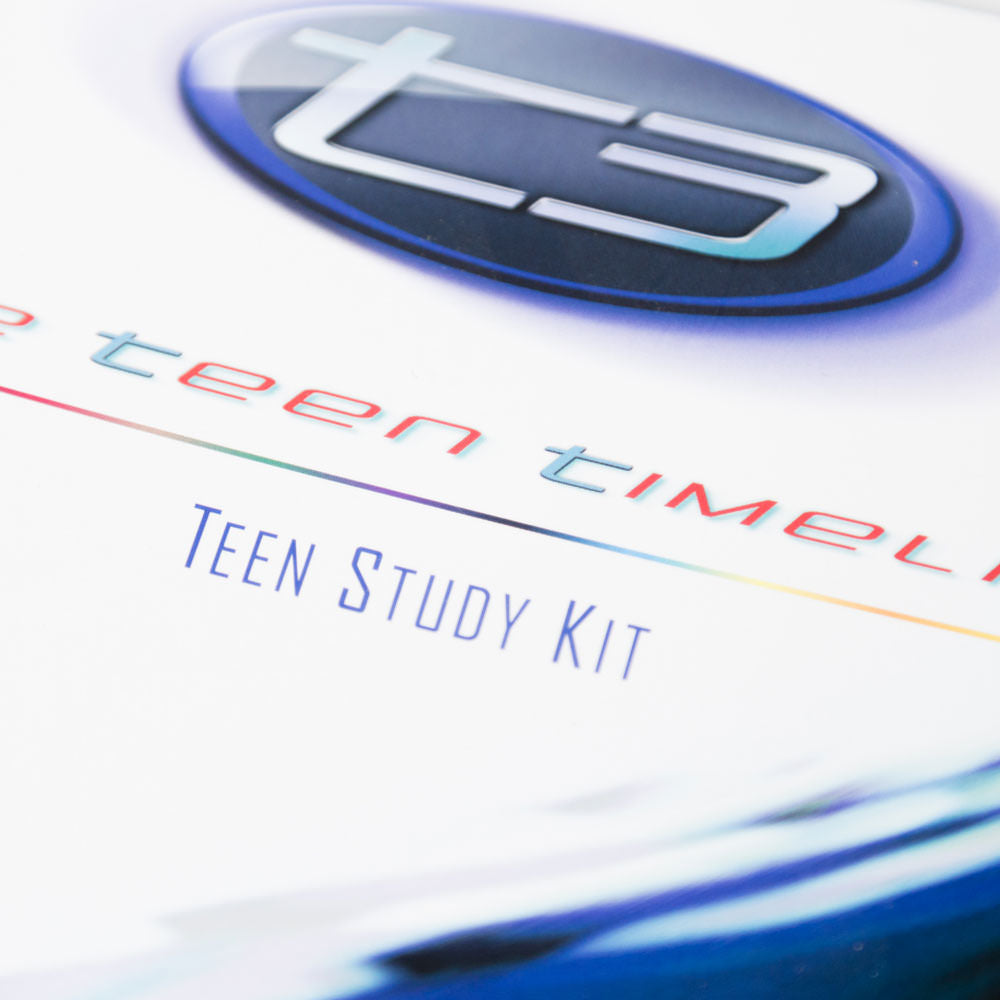 T3: The Teen Timeline - Teen Study Kit