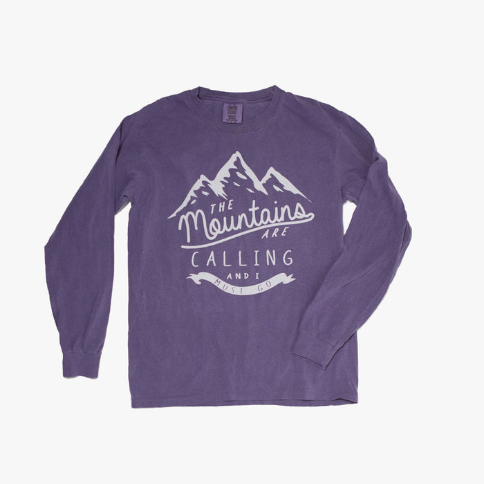 The Mountains are Calling Long Sleeve T-Shirt (Camp Covecrest)