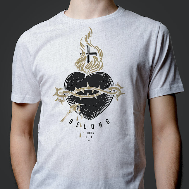 """Belong"" Official Steubenville Conference T-Shirt (Pre-Order)"