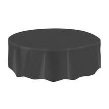 "Allgala 12-pc Plastic Table Cover 84"" Round"