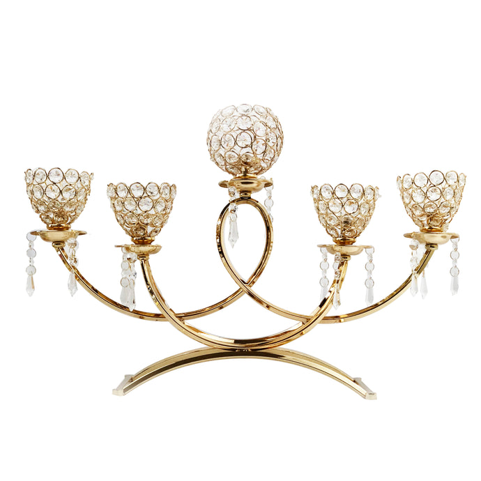 5-Arm Bowls Tealight Candelabra