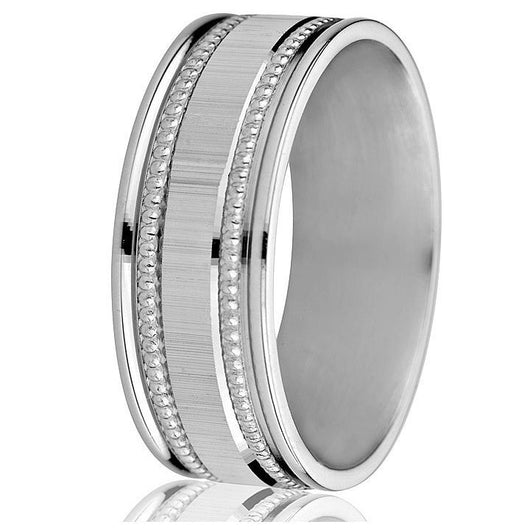 Wedding ring (14k-8mm)