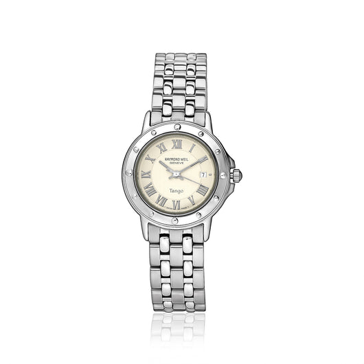 Raymond Weil ladies round Tango watch