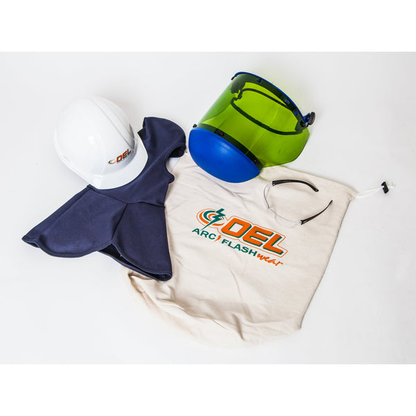 12 cal Arc Flash Hat and Hood Kit