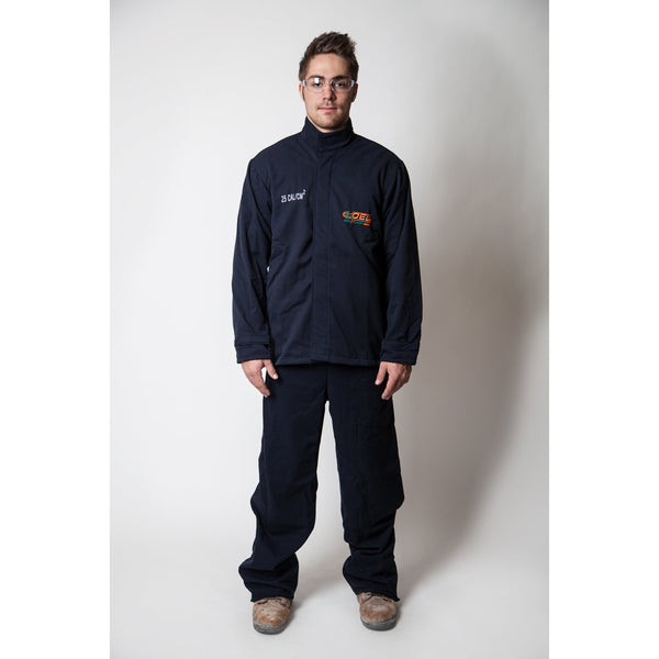 25 cal Arc Flash Kit - FR Shield Jacket and Bibs