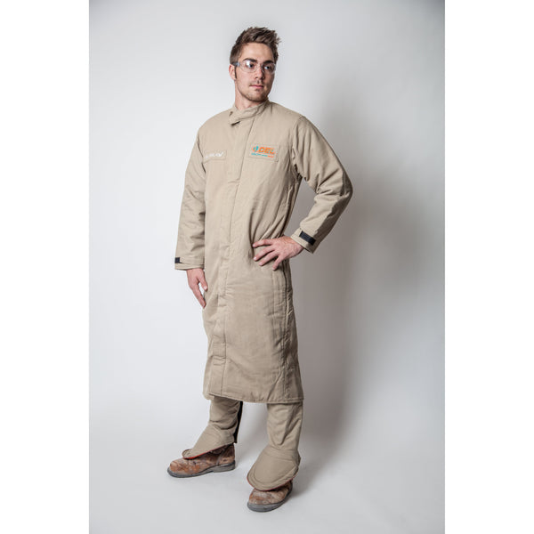 40 cal Arc Flash Kit - FR Shield Lab Coat w/ Leggings