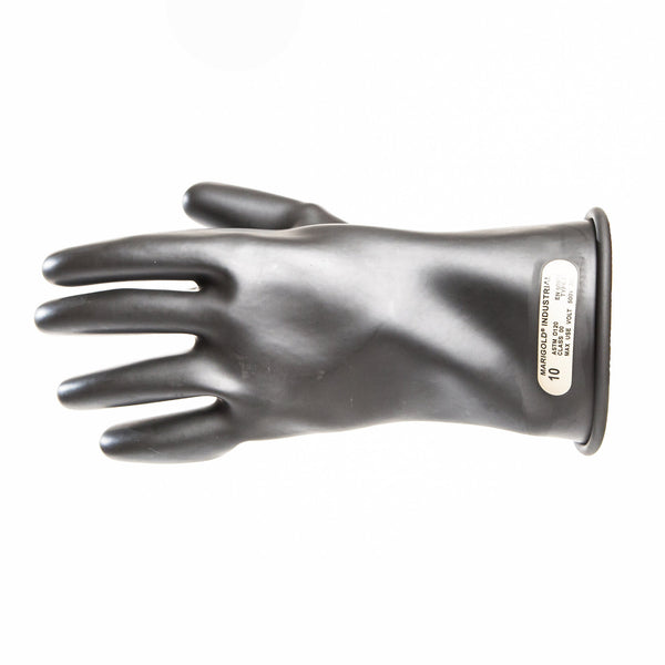 Insulated Electrical Rubber Gloves - Class 00 (500V)