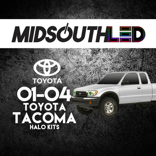 2001-2004 Toyota Tacoma COLORWERKZ Halo Kit