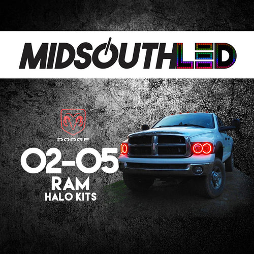 2002-2005 Dodge Ram COLORWERKZ Halo Kit