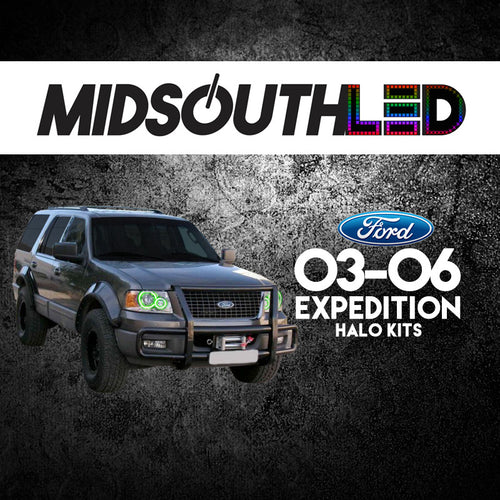 2003-2006 Ford Expedition COLORWERKZ Halo Kit