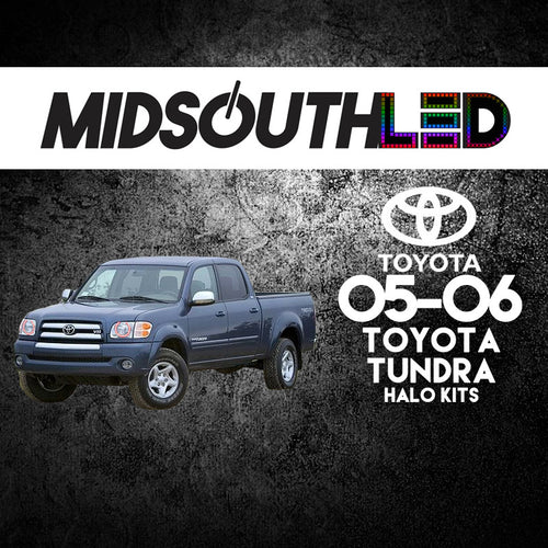 2005-2006 Toyota Tundra COLORWERKZ Halo Kit