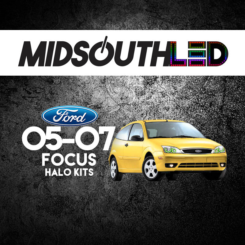 2005-2007 Ford Focus COLORWERKZ Halo Kit