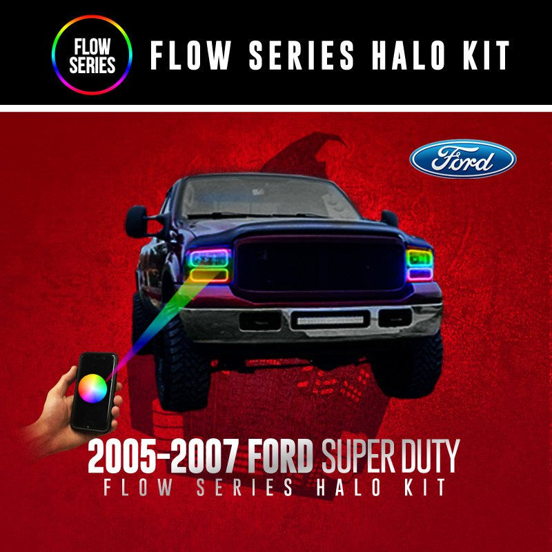 2005-2007 Ford Super Duty Flow Series (Full Kit) Halo Kit