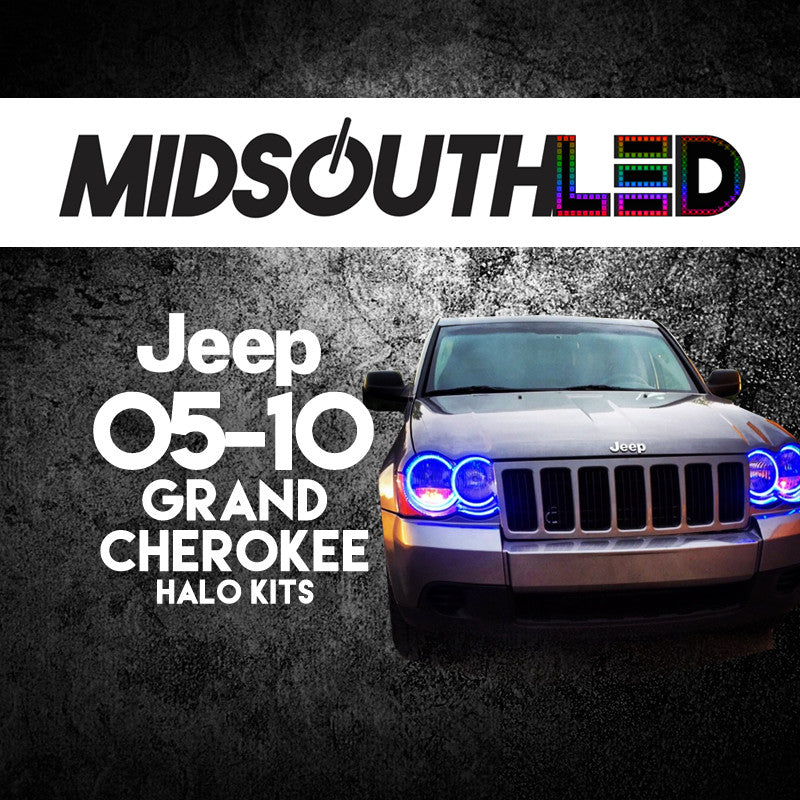 2005-2010 Jeep Grand Cherokee COLORWERKZ Halo Kit