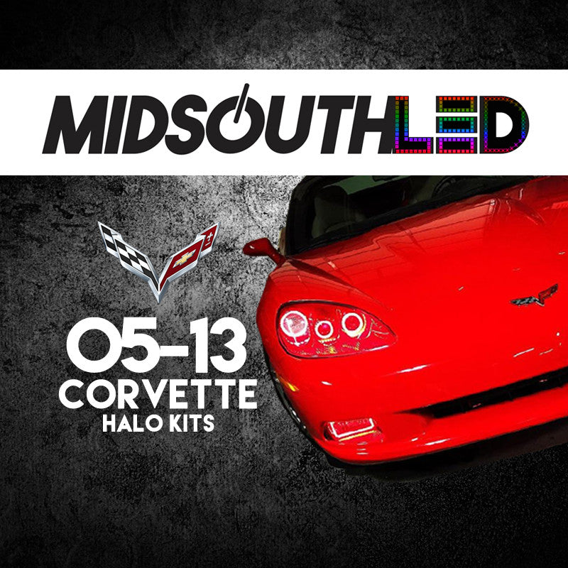 2005-2013 Corvette COLORWERKZ Halo Kit