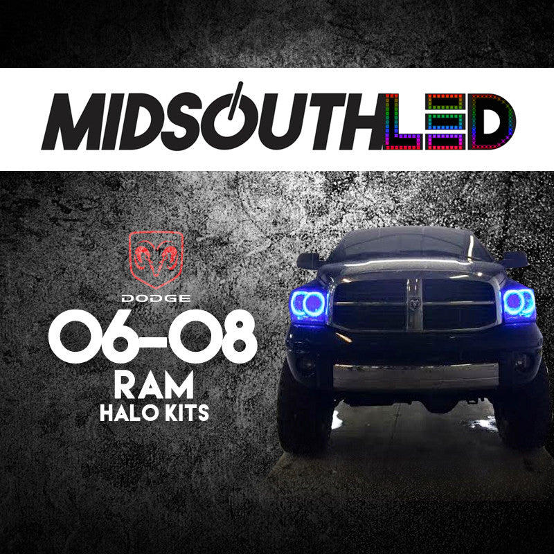 2006-2008 Dodge Ram COLORWERKZ Halo Kit