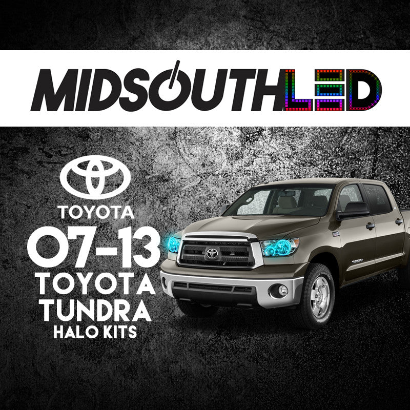 2007-2013 Toyota Tundra COLORWERKZ Halo Kit