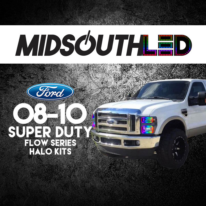 2008-2010 Ford Super Duty Flow Series (Full Kit) Halo Kit