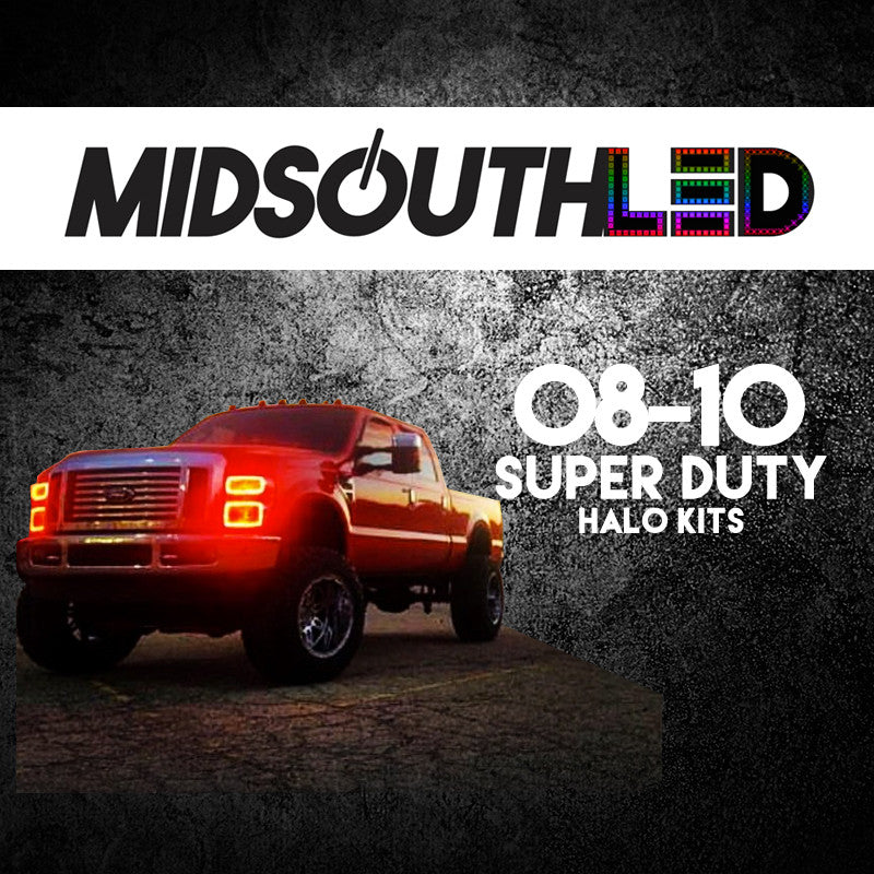 2008-2010 Ford Super Duty COLORWERKZ Halo Kit