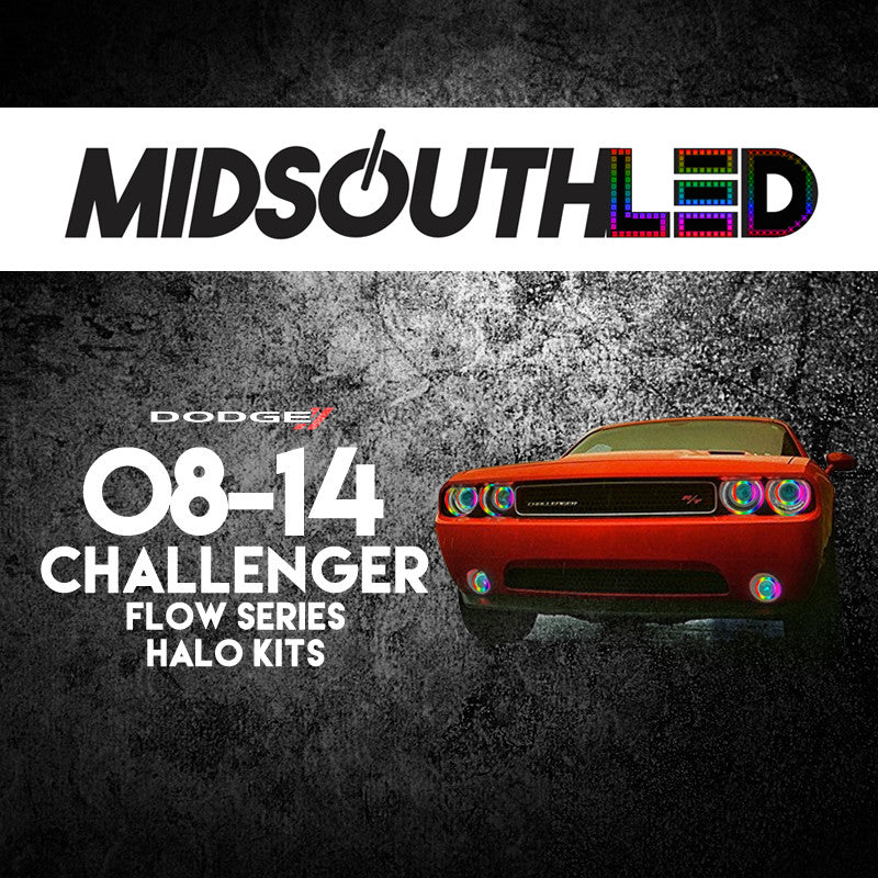 2009-2014 Dodge Challenger Flow Series Halo Kit