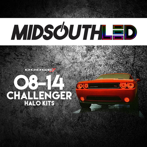 2008-2014 Dodge Challenger COLORWERKZ Halo Kit