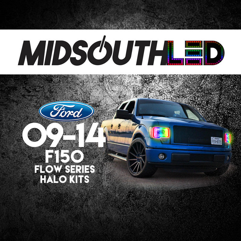 2009-2014 Ford F-150 Flow Series Halo Kit