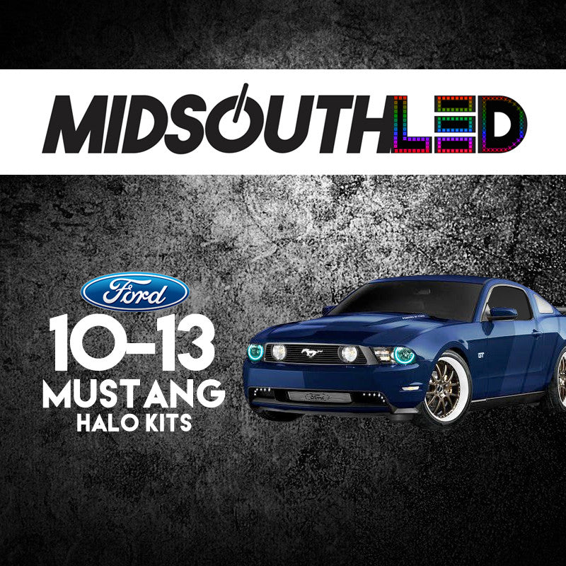 2010-2013 Ford Mustang COLORWERKZ Halo Kit