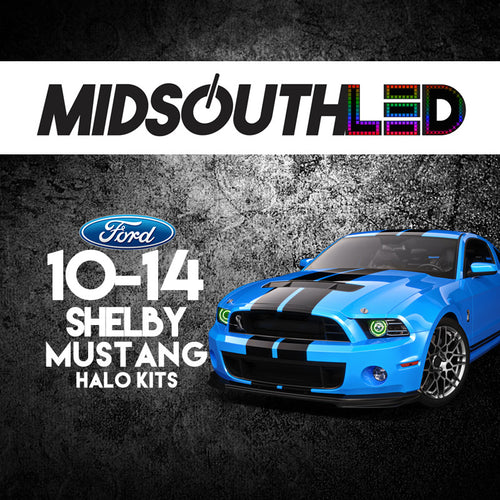 2010-2014 Ford Shelby Mustang COLORWERKZ Halo Kit